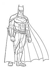 Coloring pages for learning numbers and colors for preschool and kindergarten. Printable Batman Coloring Pages Coloringme Com