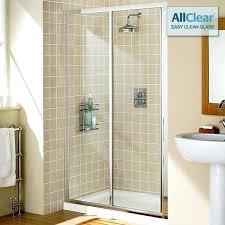 shower door slider glass