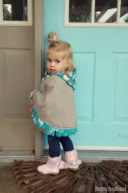hooded cat poncho or wrap to keep littles warm in the car