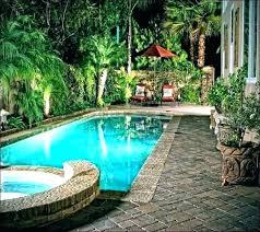 Backyard Pool Designs Cool Small Pool Backyard Aitegyptorg