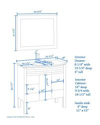 average height of a bathroom vanity fresh 18 beautiful standard bathroom sink height