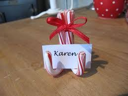 Candy Cane Table Decorations 60 Creative Ways to Use Candy Canes Table place settings Place 30