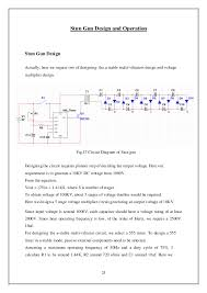 Taser Voltage Chart Final Report Electric Stun Gun
