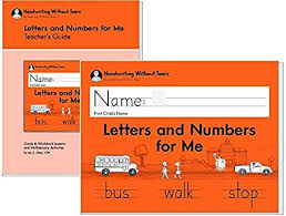 Handwriting Without Tears Letters And Numbers Kindergarten With Teachers Guide