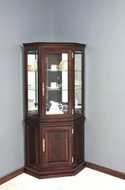 corner cabinet with glass doors traditional vintage mahogany corner cabinet glass doors wall curio cabinet glass