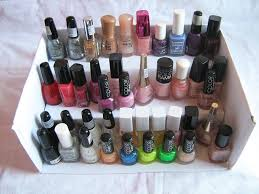 diy nail polish storage
