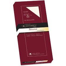 ... Stunning Southworth Resume Paper 14 Southworth 100 Cotton 10 Resume  Envelope Ivory 24 Lbs Wove ...