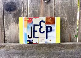 excited to share this item from my etsy license plate art jeep gift jeep jeep sign jeep life custom signs jeeping jeep gift gift for him gift