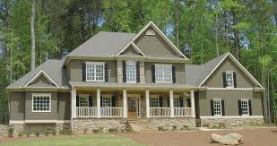 Rose Hill Luxury Country Home Plan D    House Plans and MoreShingle House Plan Front Photo   D    House Plans and More