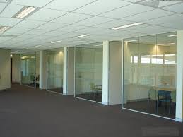 office glass walls. office space with glass walls photo 3