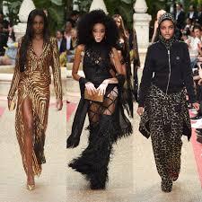 Black Fashion Designers Leomie Anderson Halima Aden Winnie Harlow Fashion