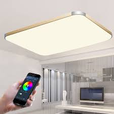 wireless lighting fixtures. app mobile phone control modern led ceiling lights for living room bedroom bluetooth wireless lamp fixtures lighting p