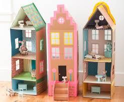 diy dollhouse cardboard brownstone dollhouse