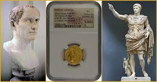 Twelve Caesars The Twelve Caesars Ancient Gold Coin Monaco Rare Coins