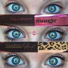 l oreal paris voluminous feline noir miss manga waterproof mascara review and swatches tha eyeball queen