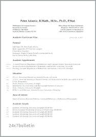 Adjunct Professor Resumes College Professor Resume Examples Awesome Format New