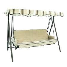 garden treasures porch swing seat steel traditional at chain replacement cushions garden treasures porch swing