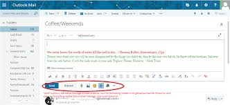 New Hotmail Message Layout - Toolbars have moved below message and ...
