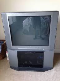 sony wega crt tv. sony wega fd trinitron crt 36 tv springfield il crt tv