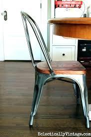 vintage metal and wood chairs vintage metal kitchen chairs metal kitchen chairs love this metal and