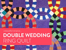A Beautiful Romance: The Double Wedding Ring Quilt - Suzy Quilts & Double-Wedding-Ring-Quilt Adamdwight.com
