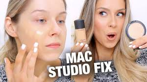 MAC Studio <b>Fix Fluid</b> + Powder Foundations Review - YouTube