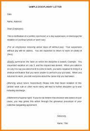 13 Sample Suspension Letter Soulhour Online
