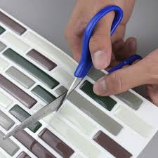 kitchen backsplash tile stickers fantezi d zeltme vinil soyun ve ubuk dekoratif 4 levhalar backsplash