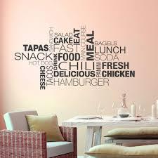 Wandtattoo Wortwolke Essen Modernes Design F Küche