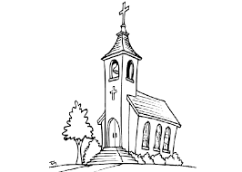 Small Picture Cartoon Drawing Of A Church Coloring Coloring Pages