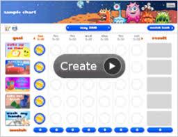 Interactive Chore Chart Interactive Online Behavior Chore Charts Chore Chart Kids