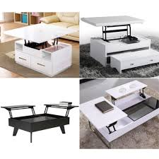 1pair lift up top coffee table lifting frame