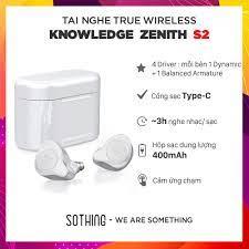Tai Nghe Bluetooth Knowledge Zenith KZ S2- Hàng Chính Hãng