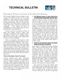 Dissimilar Metals Chart Metal Compatibility Technical Bulletin Metal Construction