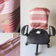 creative beautiful desk chair covers diy office chair cover chair design ideas