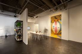 contemporary art furniture. Reception Area + Gallery Remodel Of Art Space. Technology Display  Furniture Design. 3,600 Contemporary