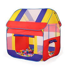 durable foldable cute kids play tent baby playhouse colorful castle large children indoor outdoor game tent