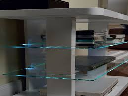 glass shelf lighting. livarno lux led glass shelf lighting set