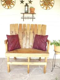 reclaimed wood pallet bench. Reclaimed Wood Pallet Furniture. $300.00, Via Etsy. Bench N