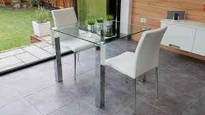 Small Kitchen Table 2 Chairs Dining Room Impressive Glass Kitchen Table And Round Glass