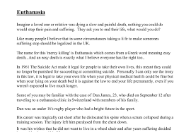 euthanasia essay introduction euthanasia essay