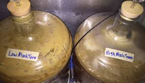 Single Infusion Mash Temperature Chart The Mash High Vs Low Temperature Exbeeriment Results