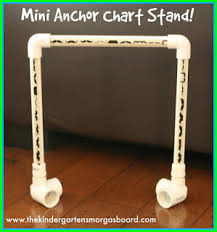 How To Make A Pocket Chart Stand Anchor Chart Storage The Kindergarten Smorgasboard