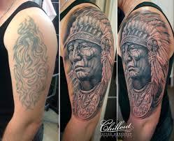 перекрытие и исправление старых татуировок Chillout Tattoo Workshop