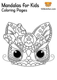 Kids love to color printable easy mandalas coloring pages. Free Printable Mandalas For Kids Coloring Pages 123 Kids Fun Apps