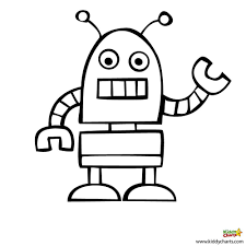 Small Picture Robot Coloring Page Coloring Pages Online