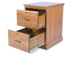 Two Drawer File Cabinet Wood 2 Wooden  Locking R93
