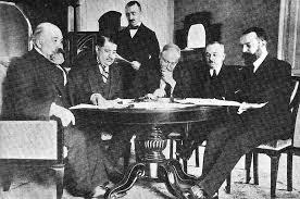 Первая Мировая Война Мирные договоры Основные мирные договоры заключенные в ходе и после Первой мировой войны