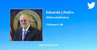Eduardo J. Padrón Twitter Statistics: Followers Count, Updates & Analytics