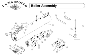 schematic pdf links and manuals espressocare la marzocco boiler assembly drawing e